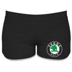 Женские шорты Skoda Small