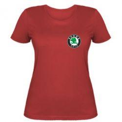 Женская футболка Skoda Small