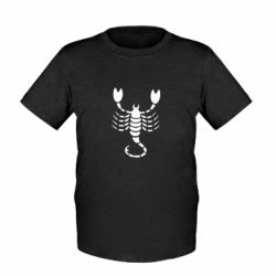 Дитяча футболка скорпіон - FatLine