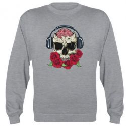 Реглан Skull and roses - FatLine