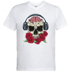 ������� ��������  � V-�������� ������� Skull and roses - FatLine