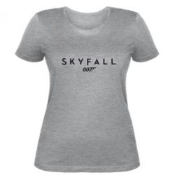 Женская футболка Skyfall 007 - FatLine