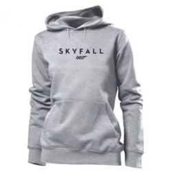 Женская толстовка Skyfall 007 - FatLine