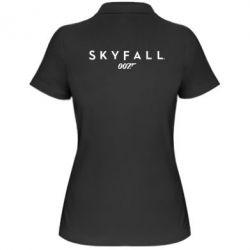 Женская футболка поло Skyfall 007 - FatLine