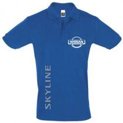 Футболка Поло Skyline Logo (Nissan) - FatLine