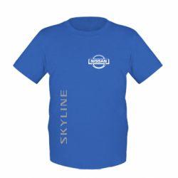 Детская футболка Skyline Logo (Nissan) - FatLine