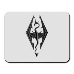 Коврик для мыши Skyrim Logo 3D - FatLine