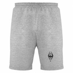 Мужские шорты Skyrim Logo 3D - FatLine