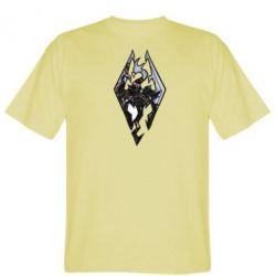 Мужская футболка Skyrim Logo - FatLine