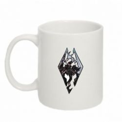 Кружка 320ml Skyrim Logo - FatLine