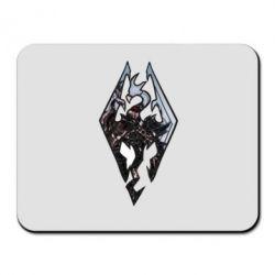 Коврик для мыши Skyrim Logo - FatLine
