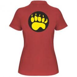Женская футболка поло след - FatLine
