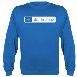 Реглан Slide to unlock - FatLine