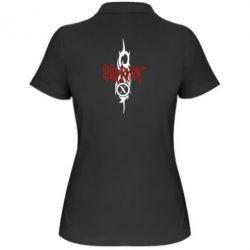 Женская футболка поло Slipknot Music - FatLine