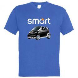 Мужская футболка  с V-образным вырезом Smart 450 - FatLine