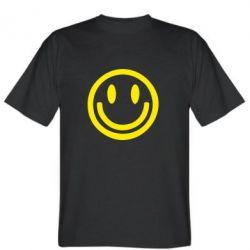 Мужская футболка Смайлик - FatLine