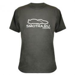 Камуфляжная футболка Smotra UA - FatLine