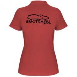 Женская футболка поло Smotra UA - FatLine