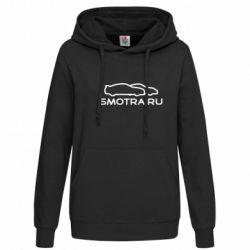 Женская толстовка Smotra.ru - FatLine