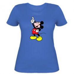 Женская футболка Смотри вверх - FatLine