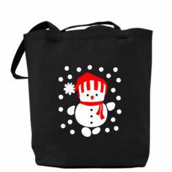 Сумка Снеговик в шапке - FatLine