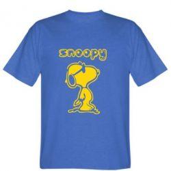 Мужская футболка Snoopy - FatLine