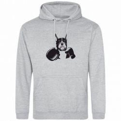 Толстовка Собака в боксерских перчатках - FatLine