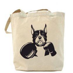 Сумка Собака в боксерских перчатках - FatLine