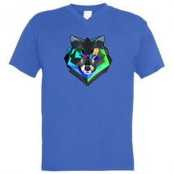 ������� ��������  � V-�������� ������� �olorful wolf - FatLine