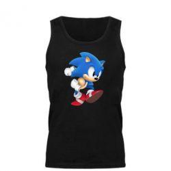 Мужская майка Sonic 3d - FatLine