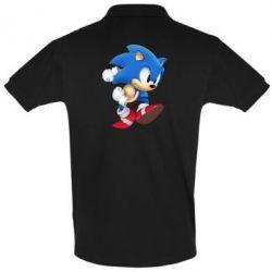 Футболка Поло Sonic 3d - FatLine