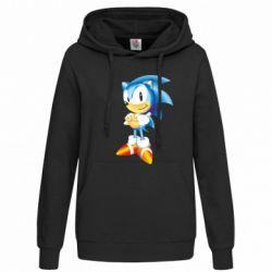 Женская толстовка Sonic - FatLine