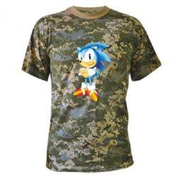 Камуфляжная футболка Sonic - FatLine