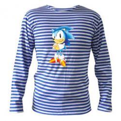 Тельняшка с длинным рукавом Sonic - FatLine