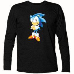Футболка с длинным рукавом Sonic - FatLine