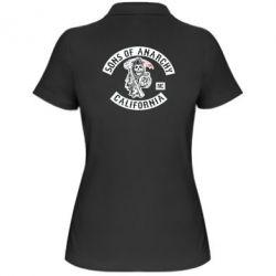 Женская футболка поло Sons of Anarchy Samcro Original - FatLine