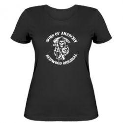 Женская футболка Sons of Anarchy - FatLine