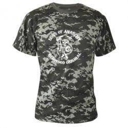Камуфляжная футболка Sons of Anarchy - FatLine
