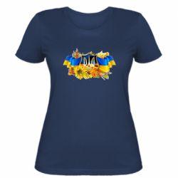 Женская футболка Сонячна Україна