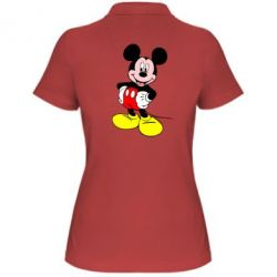 Женская футболка поло Сool Mickey Mouse - FatLine