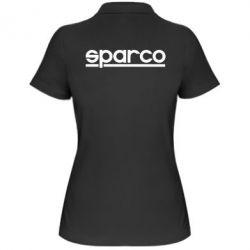 Жіноча футболка поло Sparco - FatLine