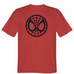 Мужская футболка Спайдермен лого - FatLine