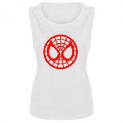Женская майка Спайдермен лого - FatLine