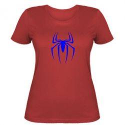 Женская футболка Spider Man Logo - FatLine