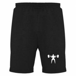 Мужские шорты Спортсмен со штангой - FatLine