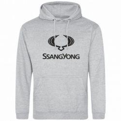 Мужская толстовка SsangYong Logo - FatLine