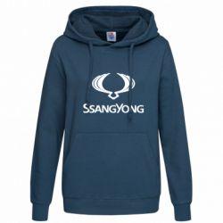 Женская толстовка SsangYong Logo - FatLine