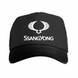Кепка-тракер SsangYong Logo - FatLine