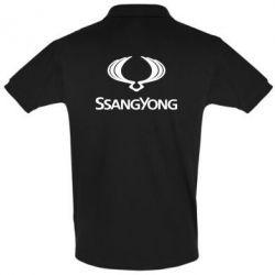 Футболка Поло SsangYong Logo - FatLine