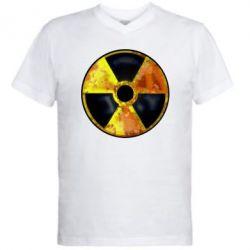 Мужская футболка  с V-образным вырезом Stalker Danger